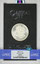 1880-CC $1 Morgan Dollar GSA Hoard NGC CAC MS63