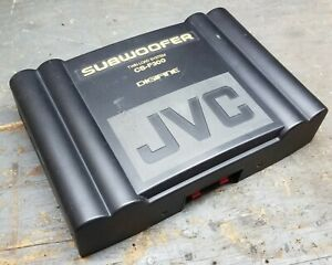 COOL old school JVC Digifine Twin Load System CS-F300 subwoofer - PARTS OR FIX!