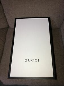 Authentic Gucci Magnetic Storage Box 15 3/4X10X7 Large