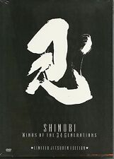 SHINOBI WINDS Special Edition 2 DVD Set Bujinkan ninjutsu ninja budo art