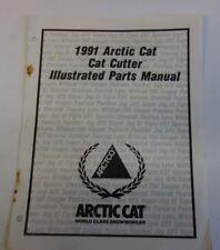 1991 Arctic Cat Cat Cutter Parts Manual Oem