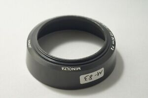Minolta Plastic Hood for MD 50mm F1.4 1.7 2 [M-83]