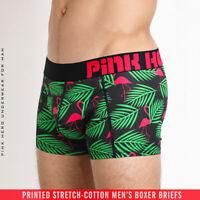 Fashion Men Boxers Flamingo Underwear for Male Boyshorts Cotton Panties Shorts
