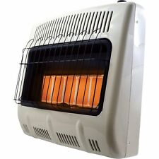 Mr. Heater Vent-Free Natural Gas Radiant Wall Heater 30,000 BTU, 5-Plaque