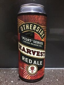 1 X 500ml Otherside Brewing - Harvest Red Ale - Craft Beer Can (sticker)