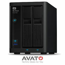 Western Digital WD My Cloud EX2100 NAS Storage 2-Bay 1 x Gigabit LAN