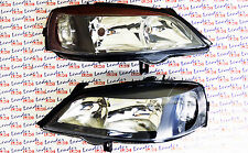 Vauxhall ASTRA G PAIR OF HEADLIGHTS (Black) - COUPE HATCH SALOON ESTATE VAN -NEW