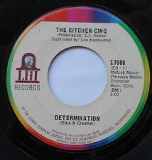 THE KITCHEN CINQ Determination CANADA 1966 GARAGE PSYCH 45 LEE HAZELWOOD