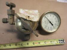 brass liquid carbonic brewery beer tap gauge regulator soda bar soloon steampunk