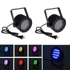 2pcs 86 RGB LED Light PAR DMX512 Lighting Laser Projector Party DJ Stage Lamp US