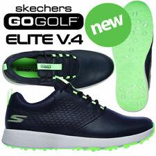 Skechers Go Golf Elite V.4 Men's Golf Shoes Navy/Lime - NEW! 2021