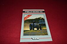 White Field Boss 43 Tractor Dealers Brochure BWPA