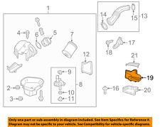 AUDI OEM 13-15 A8 Quattro Air Cleaner Intake-Intake Duct Tube Hose 4H0129510B