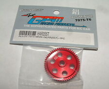 TEAM ASSOCATED RC18 RC18MT RC18B 55 TOOTH GPM RED ALUMINUM SPUR GEAR HAR055T