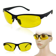 High Definition HD Night Vision Glasses Driving Yellow Lens Classic Outdoor
