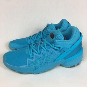 Adidas D.O.N. Issue 2 x Crayola Signal Cyan Blue 2020 FW8517 Men's Sizes