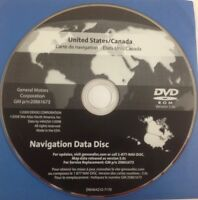 GMC GM Satellite Navigation GPS System Map CD Maps Disc 20861673 Ver 5.0c OEM