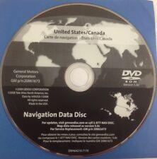 GMC GM Satellite Navigation GPS System Map CD Maps Disc 20861673 Ver 5.0c OEM