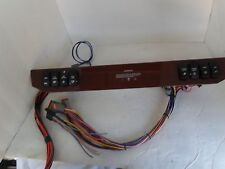 8 lighted switch panel pre wired brown