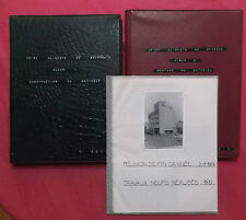 MAROC CASABLANCA 320 PHOTOGRAPHIES CONSTRUCTION USINE ALIMENTS DE SEVRAGE 1974