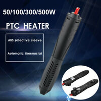50/100/300/500W PTC Submersible Aquarium Fish Tank Thermal Heater Thermostat