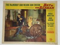 1958 Day of the Badman 11x14 #3 Lobby Card Fred MacMurray, Joan Weldon