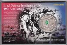 "2008 Intelligence Corp - ""IDF Fighting Units"" 39mm, 1oz Silver/999 Color Medal"