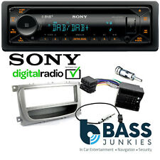 Ford Focus Sony DAB CD MP3 USB AUX & Bluetooth Car Stereo Silver Fitting Kit