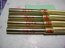 """5/8"""" BRASS DRIFT PUNCH  DIAMETER   10 1/2""""+LONG #HD5810.H.DUTY MADE IN USA"""