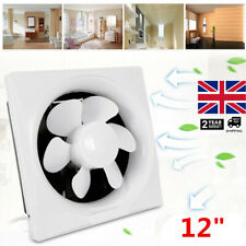 300mm Industrial Ventilation Metal Fan Axial Commercial Air Extractor Exhaust UK