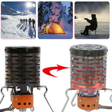 Portable Winter Camping Tent Heater Stove Heating Furnace Cover Stainless Steel
