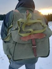 Large Canvas Vintage Military Backpack