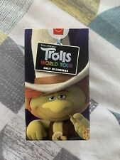 McDonald's Happy Meal Toy Trolls World Tour 2020 'HICKORY' New in Box RARE item