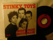 "Stinky Toys - Boozy Creed & Driver Blues - 7"" - 45RPM - UNPLAYED!!"