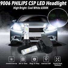 9006 HB4 9012 CSP 240W 24000LM LED Headlight Kit Light Bulbs 6500K White