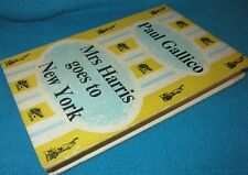 Mrs HARRIS goes to New York  ~ Paul GALLICO. 1st Ed HbDj  Heartwarming  in MELB