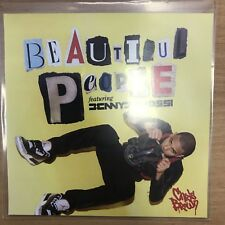 "Chris Brown Ft Benny Benassi ""Beautiful People "" Rare 16 Remix New Cd Promo"