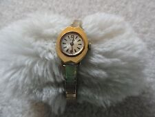 Vintage Swiss Made Wyler Ladies Wind Up Watch with a Stretch Band