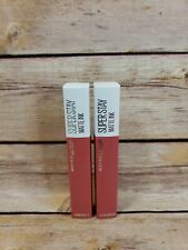 2 Maybelline Super Stay Matte Ink Lip Color #130 Self Starter