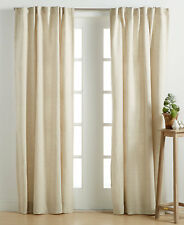 """Hotel Collection Linen Natural 54"""" x 84"""" Window Panel $145"""