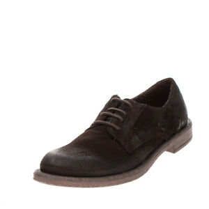 RRP €230 BRUNO VERRI Derby Shoes Size 39 UK 5 US 6 Treated Lace Up Round Toe