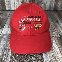 VTG New Jersey Devils NHL Stanley Cup Finals 2000 SnapBack Hat Cap Dallas Stars