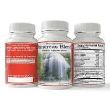 Pancreas Blend, Natural Pancreas Health Supplement, Pancreatic Function 90ct