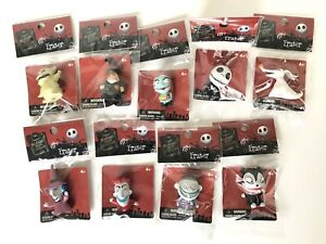 Lot of 9 Nightmare Before Christmas Figures Erasers Cake Toppers Jack Sally Zero