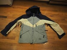 WOMENS ROXY Quicksilver  SKI SNOWBOARD JACKET COAT SIZE LARGE L Shell Blue