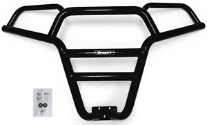 SuperATV Black Front Bumper Brush Guard for Polaris RZR 900 1000 XP S Turbo