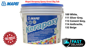 Mapei Kerapoxy Epoxy Grout 5kg Tub Available in various Colours