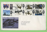 G.B. 1965 Battle of Britain set on GPO First Day Cover, Bureau London
