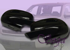 FOR SILVERADO SUBURBAN TAHOE SIERRA YUKON GLOSS BLACK SIDE MIRROR FULL COVERS 2P