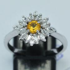 Anelli di lusso con gemme zaffiro Misura anello 15